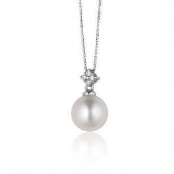 Pendenti Perle e Diamanti