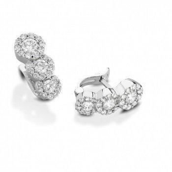 ORECCHINI Diamanti Bianchi