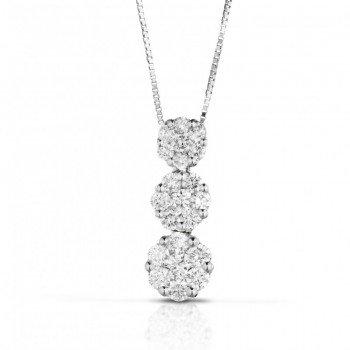 Pendenti Diamanti bianchi