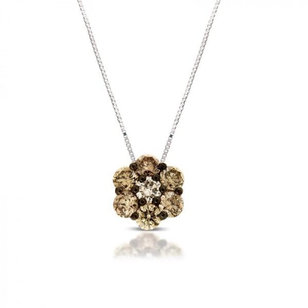 Pendenti diamanti brown e black